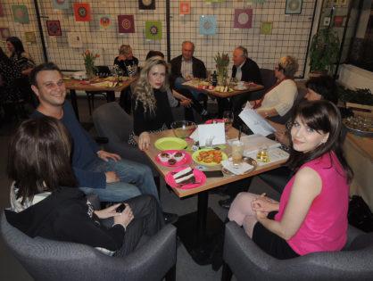 VERNISÁŽ VÝSTAVY MANDAL DOBROMYSL HRADEC KRÁLOVÉ 17. 3. 2014